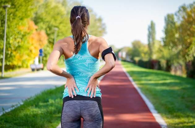 Bolesť chrbta pri behu