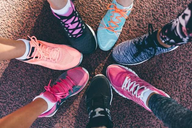 Druhy športovej obuvi