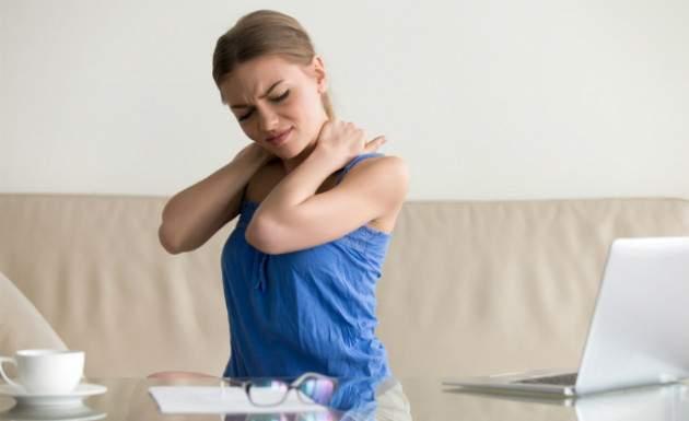 Ukladanie stresu na tele