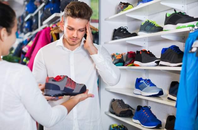 Výber športovej obuvi