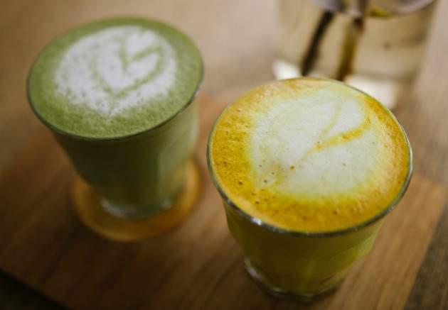 nuo3 Kurkuma latte nápoj