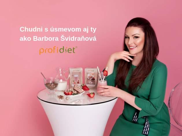 Chudni s úsmevom aj ty ako Barbora Švidraňová