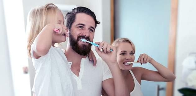 Prírodná kozmetika na zuby pre celú rodinu