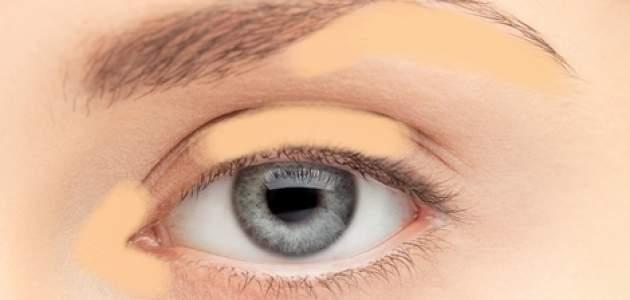 Korektor okolo oka