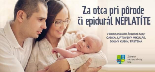 Pôrod v žilinských nemocnicach