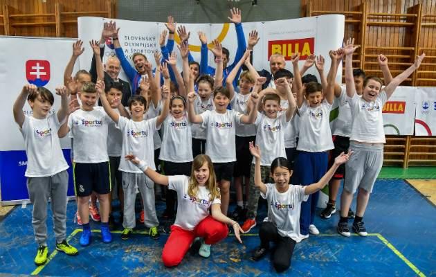 Projekt Športuj Slovensko
