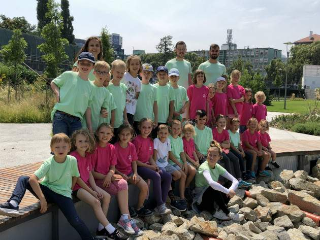 Letné tábory pre deti FitKids