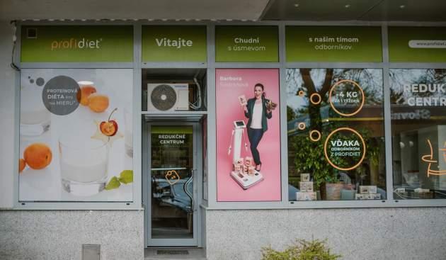 Referenčné centrum Profidiet na Americkom námestí v Bratislave