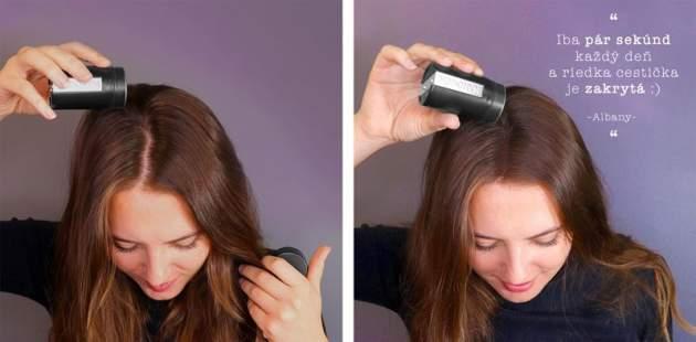 Použitie vlasových keratínových vlákien