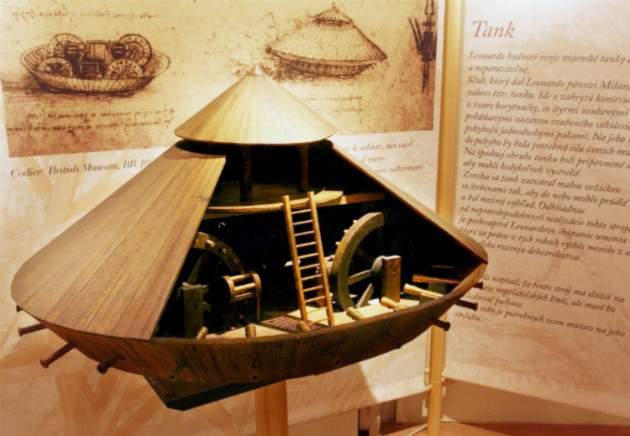 Robot Leonarda da Vinciho