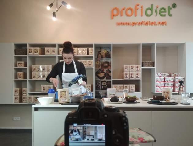Barbora Švidraňová navarila svoje obľúbené proteínové jedlá Profidiet.