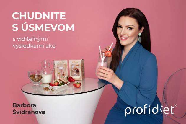 Chudnite s úsmenov ako Barbora Švidraňová