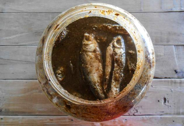 Smradľavá ryba surströmming