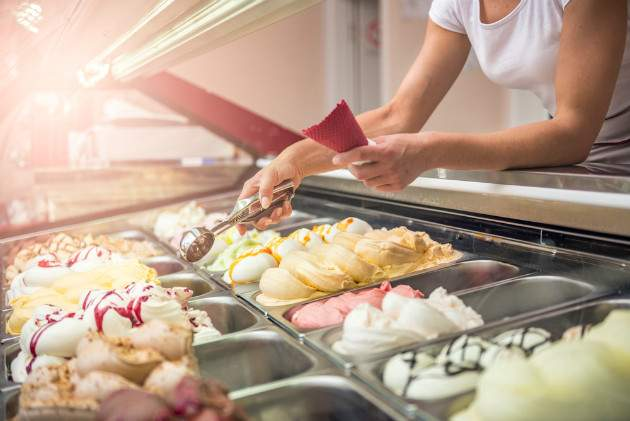Kontrola zmrzlín