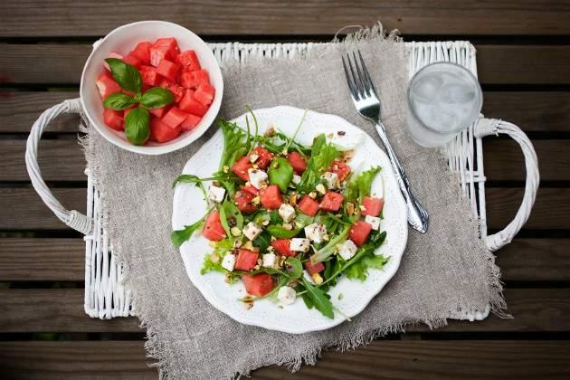 Letné diétne jedlá