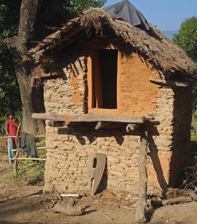 Chhapaudi - menštruačná chatrč