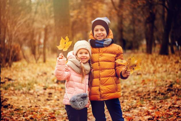 jesen a deti