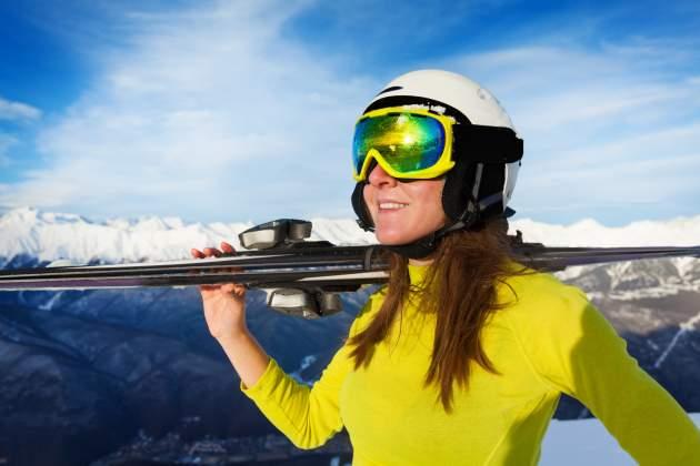 lyžovačka na horách