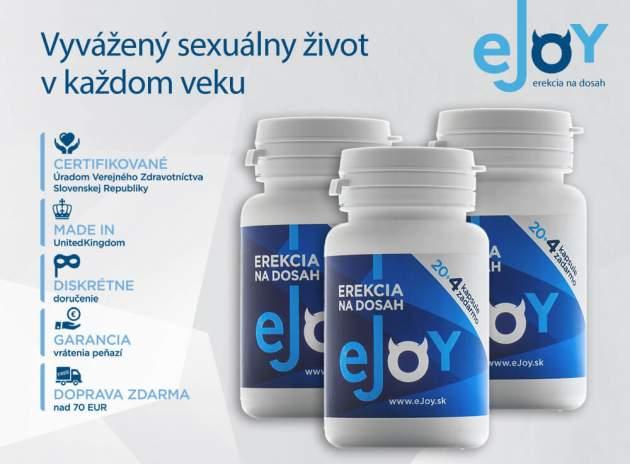 eJoy tabletky na erekciu