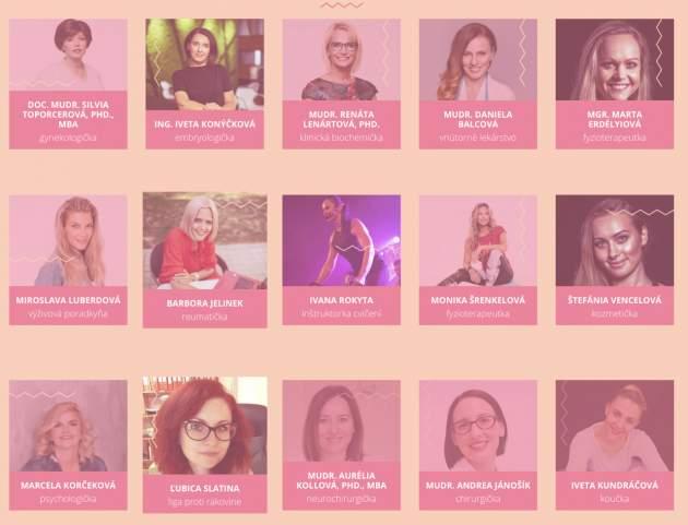 Spíkerky na konferencii Pre zdravie ženy
