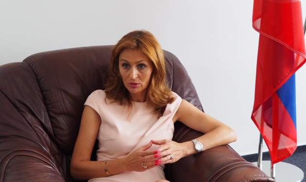 ministerka zdravotníctva Andrea Kalavská
