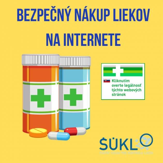 bezpečný nákup liekov na internete