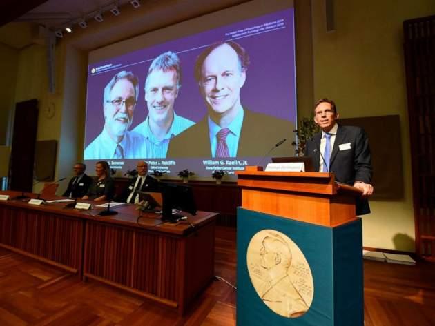 laureáti Nobelovej ceny za fyziológiu alebo medicínu za rok 2019