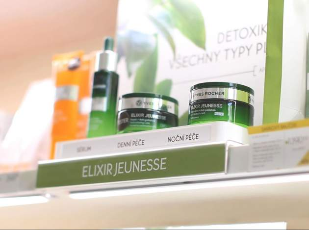 rastlinná kozmetika Yves Rocher