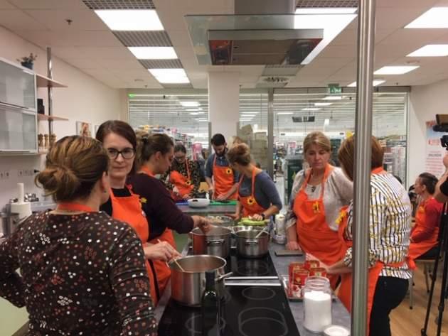 predvianočný workshop- Spolu môžeme variť