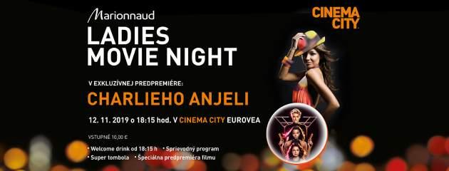 Cinema City-Ladies movie night Charlieho anjeli