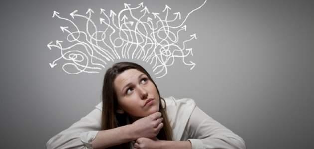 Mysliaca žena