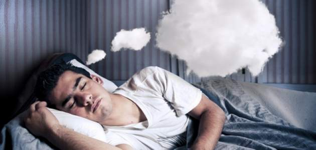 Snívajúci muž