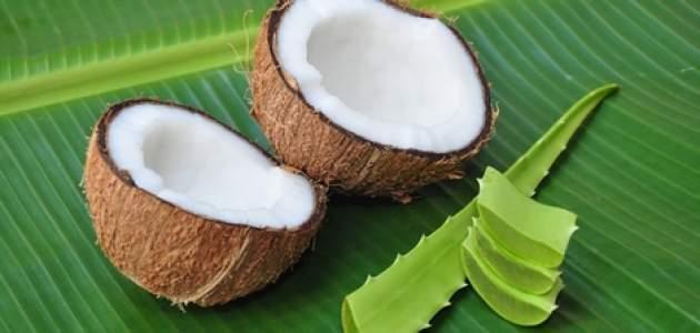 Kokos s aloe vera