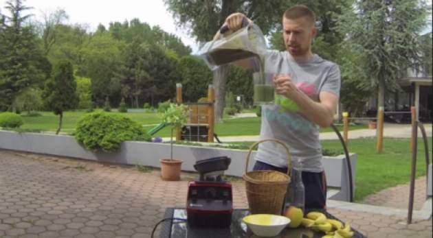 Príprava smoothie