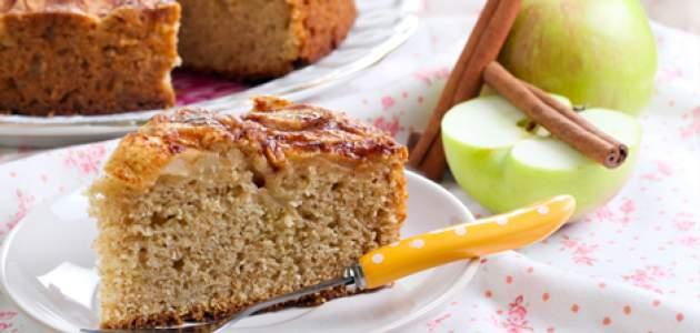 Celozrnný jablkový koláčik