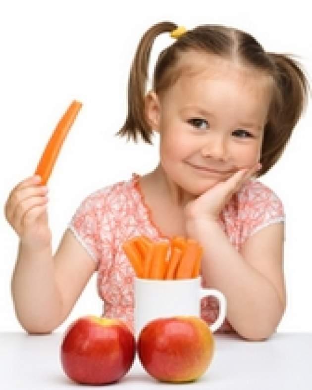 Dievčatko s mrkvou