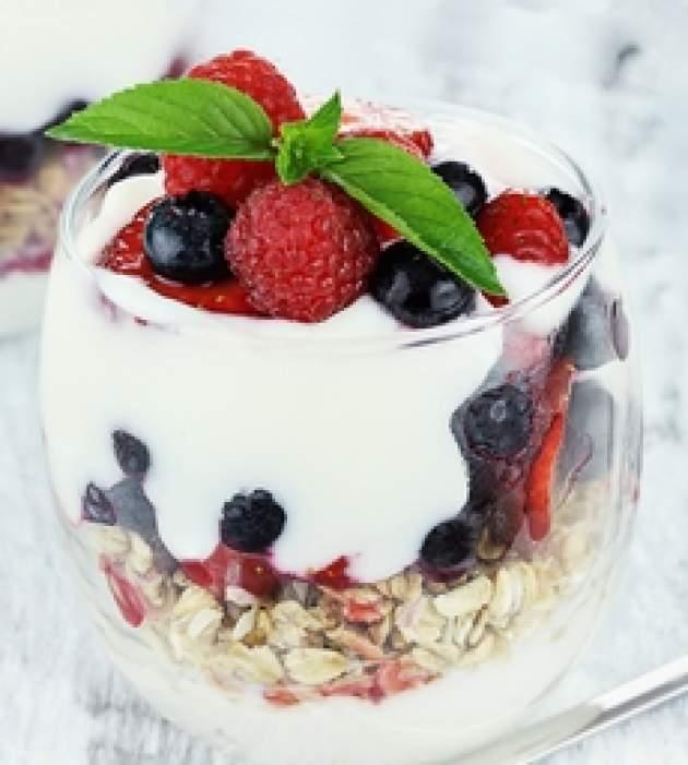 Jogurt s ovocím