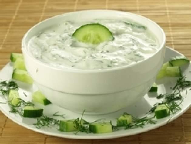 Jogurt s uhorkou