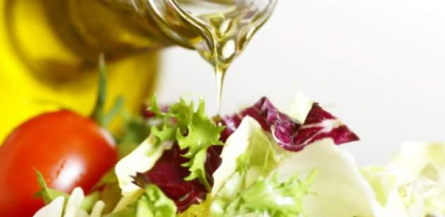 Olivový olej a zelenina