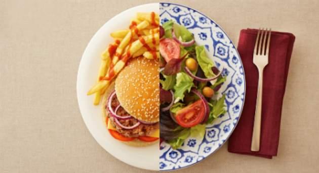 Rozdiel medzi zdravými a nezdravými tukmi v jedle