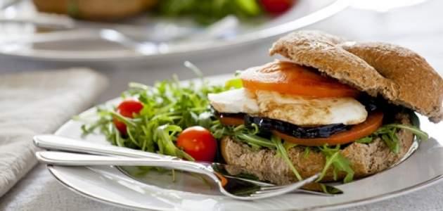 Baklažánový sendvič