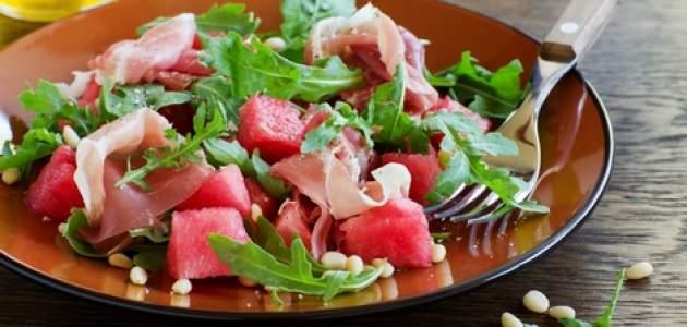 Šalát s melónom