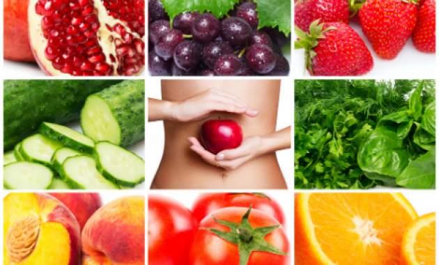 Rôzne druhy potravín