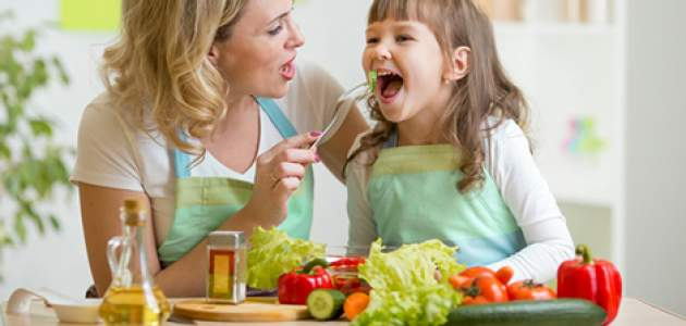 Motivujte deti na zeleninu