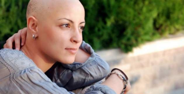 Žena s rakovinou