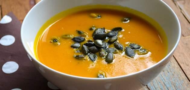 Jemná jesenná tekvicová polievka z hokkaido