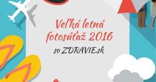 Veľká letná fotosúťaž 2016 - VYHODNOTENIE
