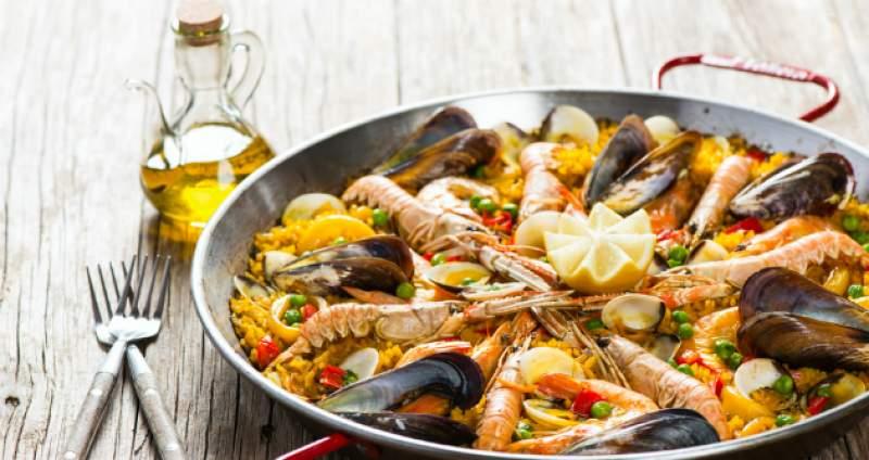 Španielska kuchyňa - paella