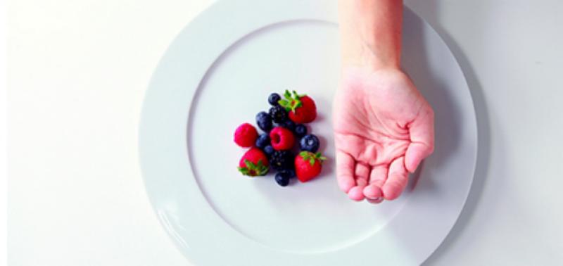 Počítanie kalórií pomocou dlane