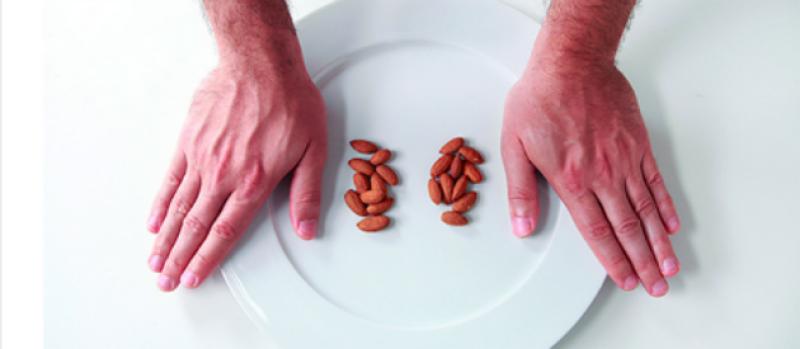 Počítanie kalórii pomocou palca
